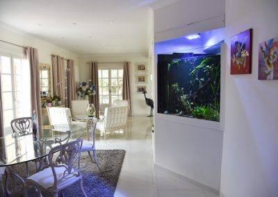 aquarium en séparation de pièce 2